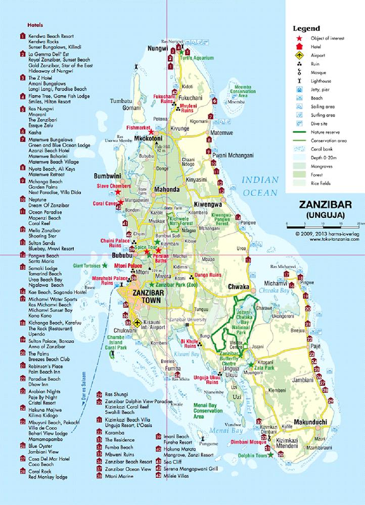 Zanzibar Exoticky Raj S Vuni Koreni Parkovani R7