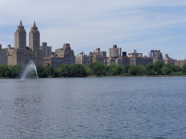 Nádrž - Central Park, New York