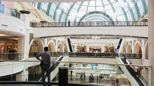 Shopping mall Dubaj