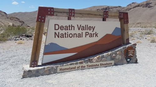 Death Valley National Park - cedule